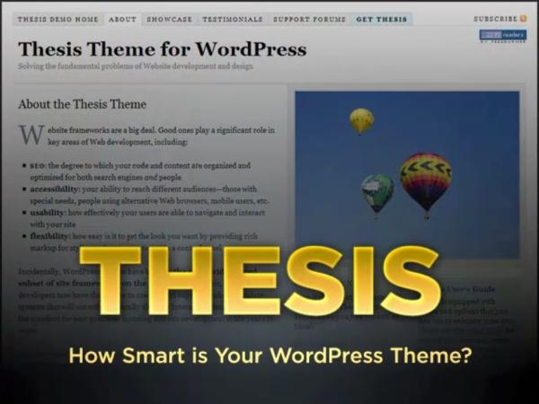 diy thesis framework
