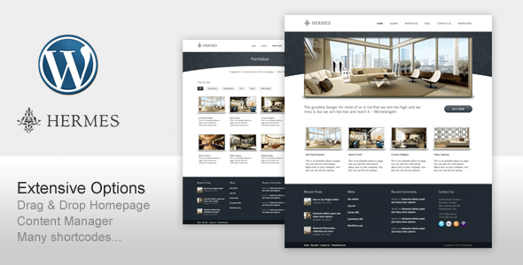Tema Wordpress per Hotel