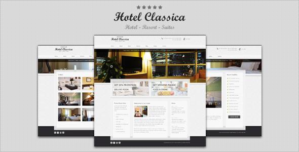 Hotel Classica, Tema WordPress per Alberghi