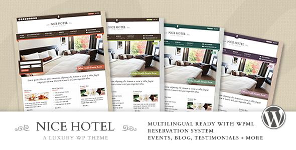 Nice Hotel WordPress