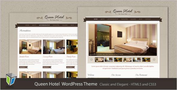 Queen Hotel WordPress