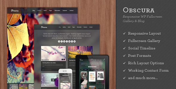 Obscura Wordpress