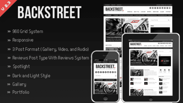 BackStreet WordPress
