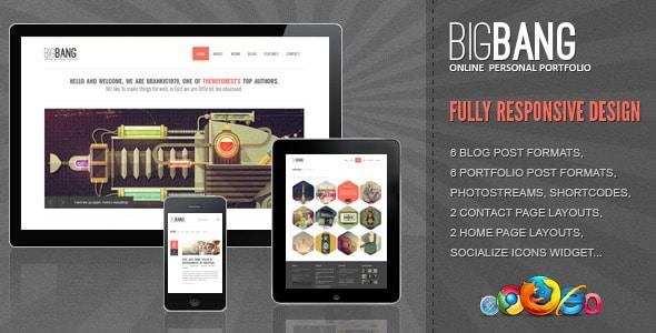 BigBang WordPress