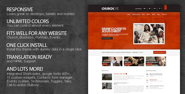 ChurcHope WordPress