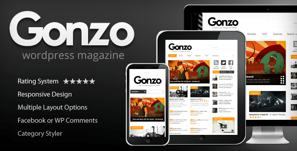 Gonzo WordPress