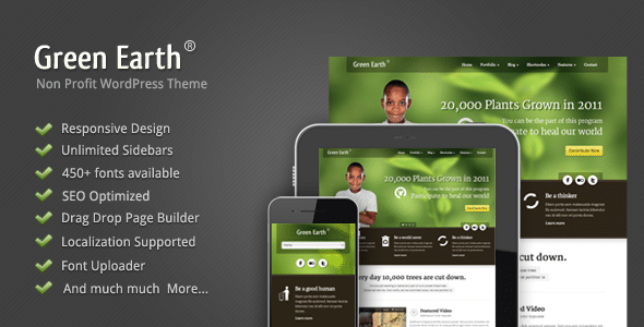 Green Earth WordPress