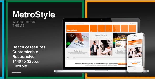 MetroStyle WordPress