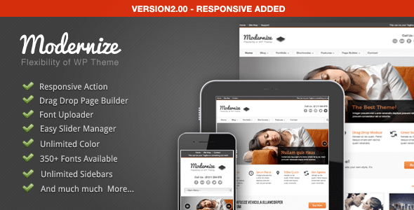 Modernize WordPress