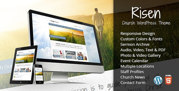 Risen WordPress