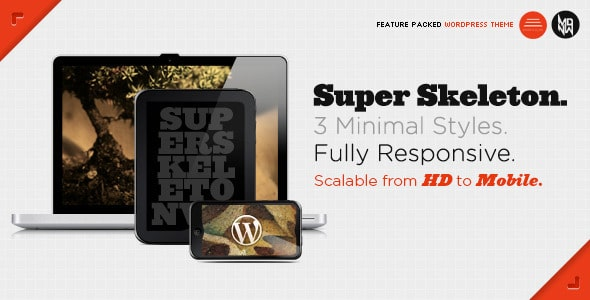 Super Skeleton WordPress
