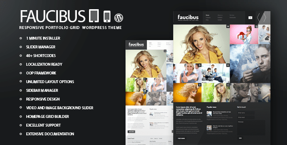 Faucibus WordPress