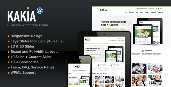 Kakia WordPress