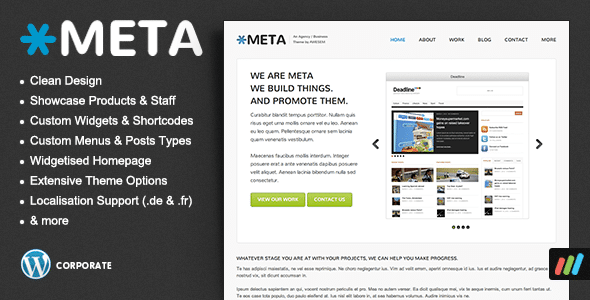Meta Agency WordPress