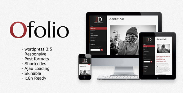 O'Folio WordPress