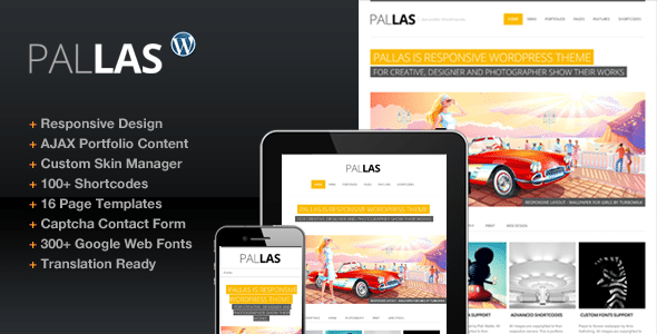 Pallas WordPress