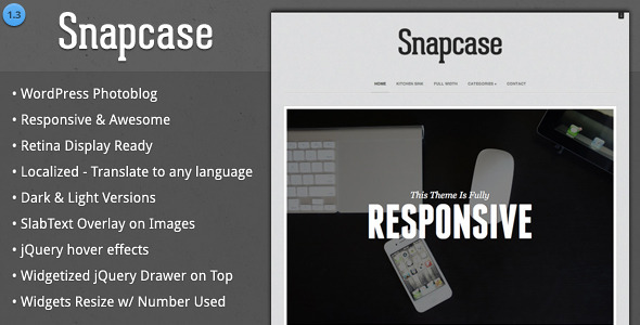 SnapCase WordPress