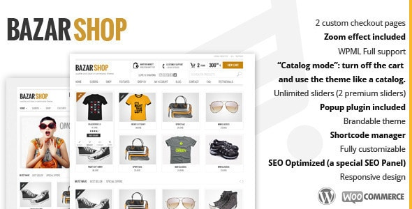 Bazar Shop Tema Wordpress