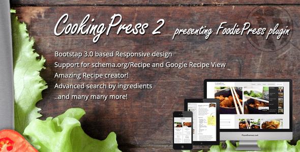 Cooking Press Tema WordPress