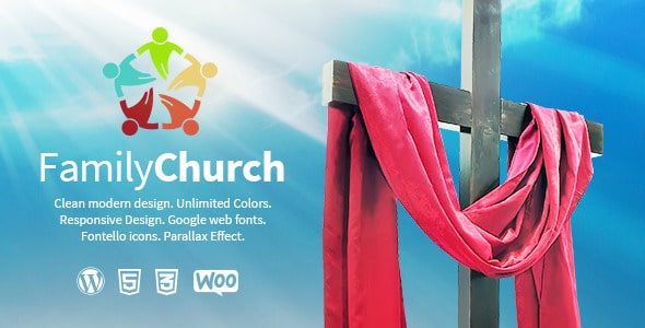Family Church Tema WordPress