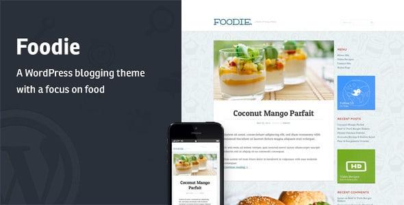 Foodie Tema WordPress