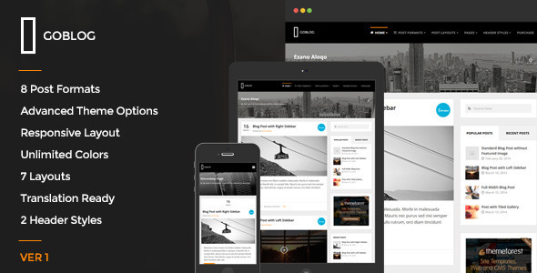 GoBlog Tema WordPress