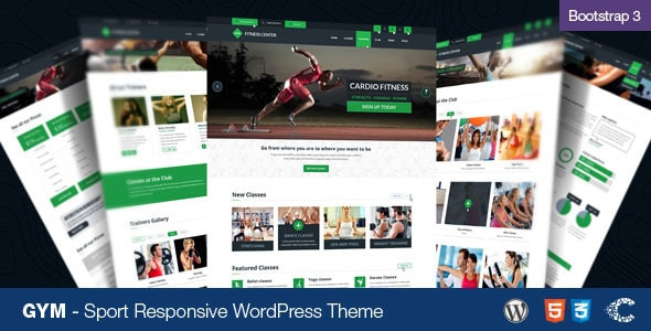 Gym Tema WordPress