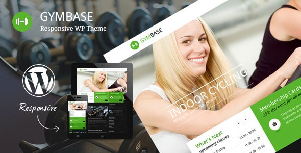GymBase Tema Wordpress