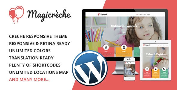 MagiCreche Tema WordPress