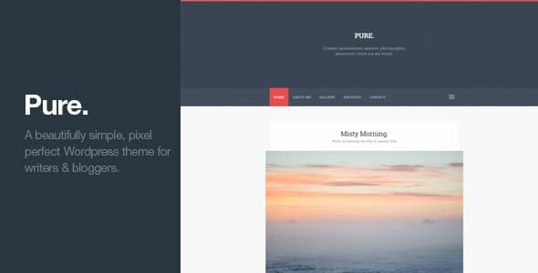 Pure Tema WordPress