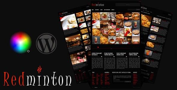 Redminton Tema WordPress