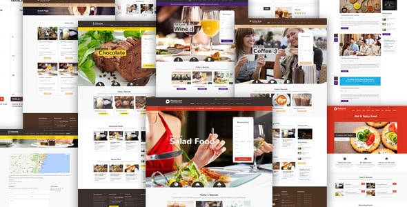 Restaurant Tema WordPress