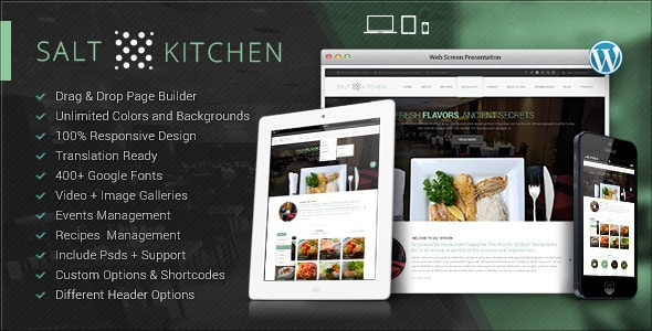 SaltKitchen Tema WordPress
