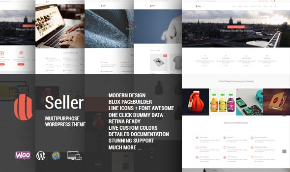 Seller Tema WordPress