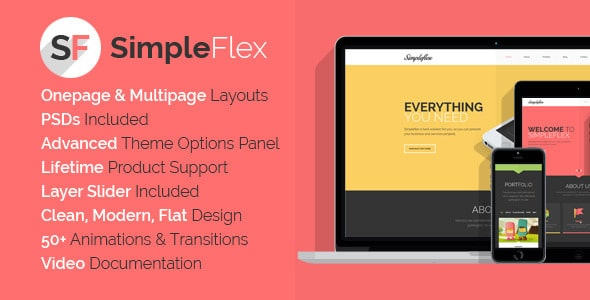 Simpleflex Tema WordPress