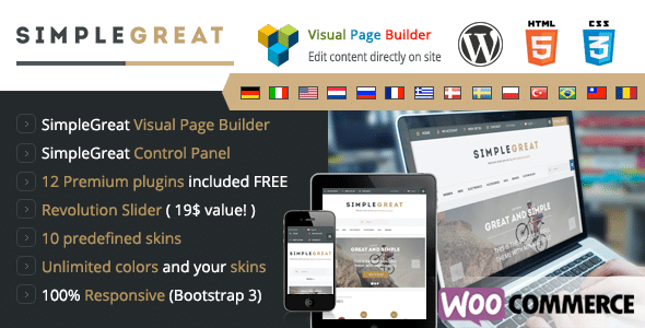 SimpleGreat Tema WordPress