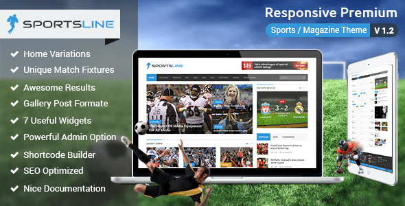 Sportsline Tema WordPress