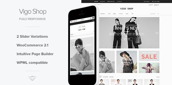 VigoShop Tema WordPress
