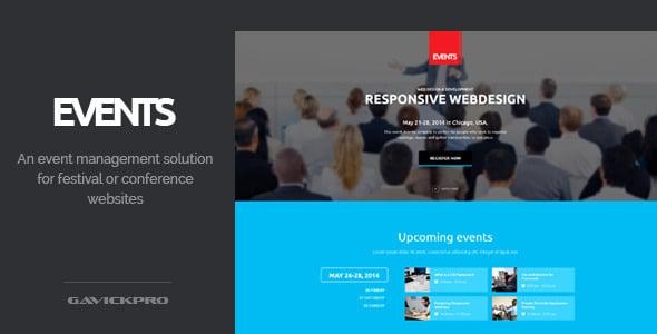 Events Tema Wordpress Eventi
