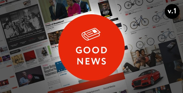 Good News Magazine WordPress