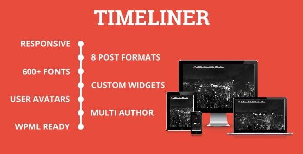 Timeliner Tema Wordpress