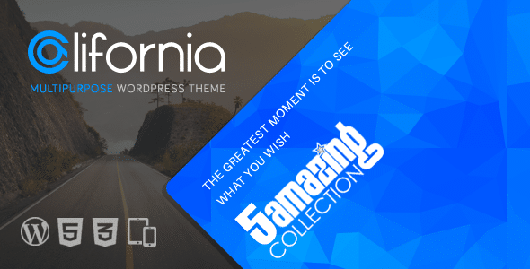 Califoria - Tema Wordpress Multiuso