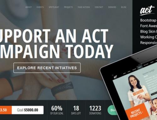 20 Templates per siti di Agenzie Non Profit, Raccolta Fondi e ONG