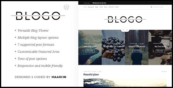 Blogo - Tema per Blog Responsive