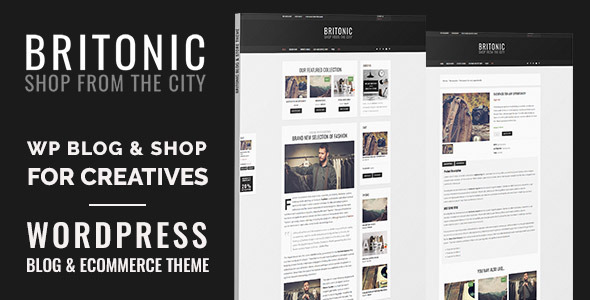 Britonic - Tema Blog eCommerce
