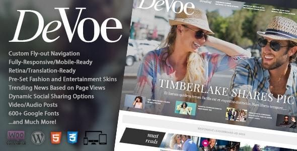 DeVoe - Template per Fashion Blog