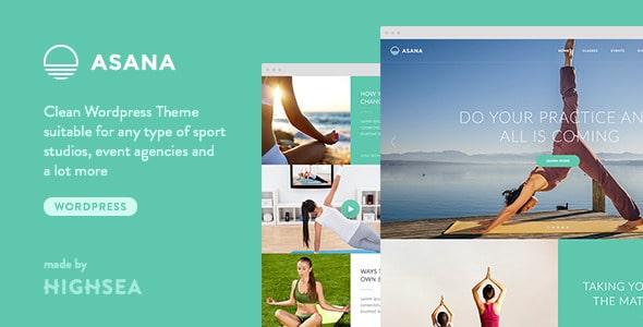 Asana - Template per Yoga