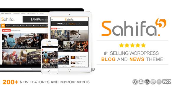 Sahifa - Tema News