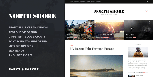 North Shore - Tema Blog