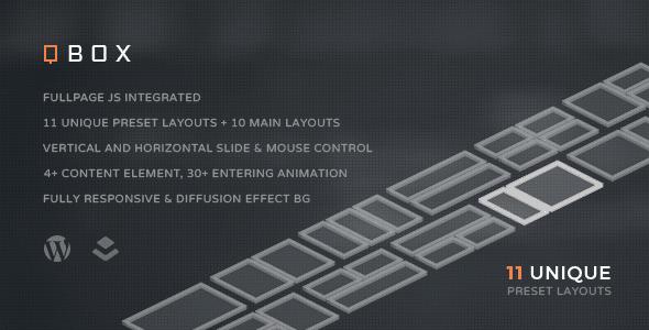 QBOX - Tema Fullpage